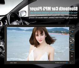7'' 2Din Car CD DVD Player In Dash Bluetooth FM Radio Stereo