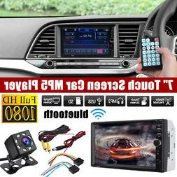 """7"""" 2DIN Car Stereo Radio bluetooth HD MP5 Player Touch Scree"""