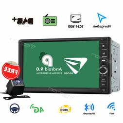 "7"" Universal Android 8.0 Car GPS Navi Stereo Octa Core 4G WI"