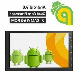 "7"" Android 9.1 2GB RAM 2Din Car Stereo Radio GPS Navi Wifi Q"