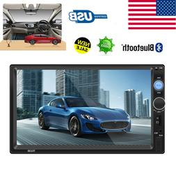 "7"" Bluetooth LCD Car Audio Receiver Adapter HD Video Stere"