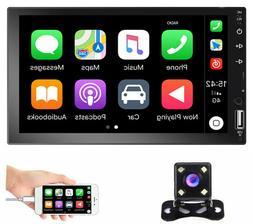 "7"" Car Radio Apple/Andriod Carplay BT Car Stereo Touch Scree"