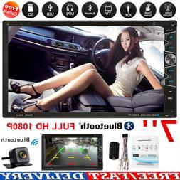 "7"" Car Stereo DVD Player Radio Bluetooth MP5 Multimedia Play"