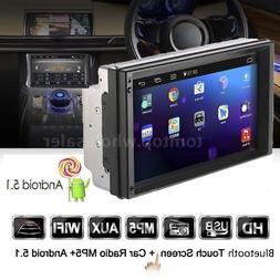 7'' Car Stereo Radio GPS Navi MP5 Player 2DIN Wifi Bluetooth