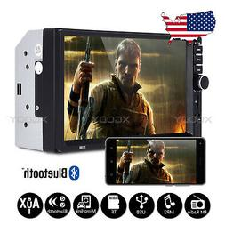 "7"" Inch Car Stereo Mp5 Player Touch Screen Bluetooth Radio 2"