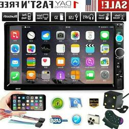 """7"""" Double 2 Din Car Stereo Radio FM/MP5 Player Bluetooth HD"""