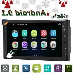 """7"""" Double 2DIN Car Radio Android 9.1 WiFi GPS Navi USB FM MP"""