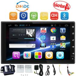 7 Double 7018B 2 DIN Car MP5 FM Stereo Radio MP5 Player Touc