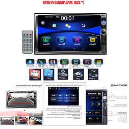 "Regetek 7"" Double DIN Touchscreen in Dash Bluetooth Car Ster"