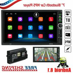 "7"" GPS navigation Android 8.1 Double 2DIN Car Auto Stereo Ra"