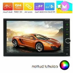 "7"" HD EinCar Android 6.0 Quad-core 1+16GB Car Stereo Radio G"