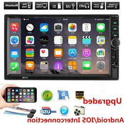 """7"""" HD DOUBLE 2DIN Car Stereo Video MP5 Player Bluetooth FM R"""