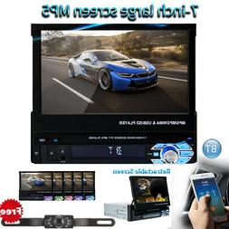 7 in Car DVD C-D Player Stereo Flip Out Touch Screen Radio 1