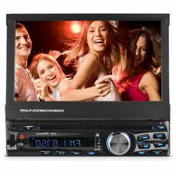 """XO Vision 7"""" In-Dash Touch Screen DVD Receiver w Front USB &"""