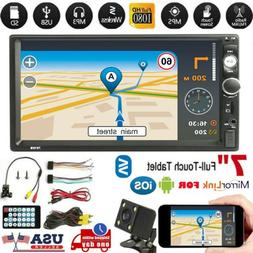 "7"" inch Double DIN Car MP5 Player Touch Screen Stereo Radio"