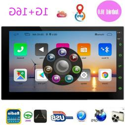 Android 10.0 Car Radio Touch Screen Double Din Car Stereo 7I