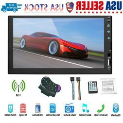 7 Inch Double 7023B 2 DIN Car FM Stereo Radio MP5 Player Tou