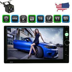 7 inch HD 2Din Touch Screen Car Stereo MP5 Player Radio USB/