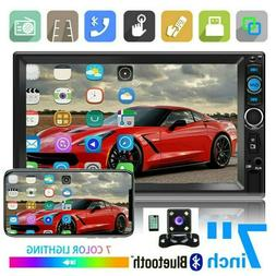 "7"" inch Stereo Radio Double 2DIN Car MP5 Player Bluetooth To"