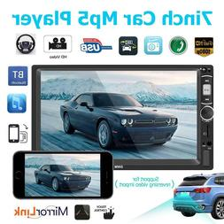 7 Inch Touch Screen 2Din Car Stereo MP5 Player FM Radio U Di