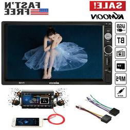 KKmoon 7'' Touch Screen Car MP5 Player 2Din HD Stereo FM Rad