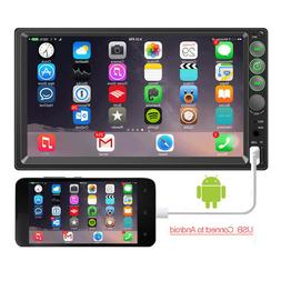 """7"""" Touch Screen GPS Bluetooth Universal Car Radio Stereo Aud"""