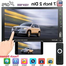 2 DIN 7inch Car MP3 MP5 Player TV FM Bluetooth Touch Screen
