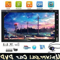 7inch Double 2Din Car Stereo DVD MP3 MP4 MP5 Player In Dash