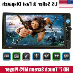 7Inch Touch Screen Car Audio Stereo Receiver MP5 Player FM R
