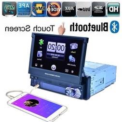 7inch Wide Screen Touch Screen Stereo Music Radio HD Bluetoo