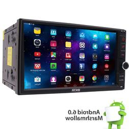 """Android 6.0 2DIN NO CD DVD 7"""" Car Player Radio BT Stereo Wif"""