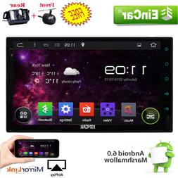 Android 6.0 4G WIFI Double 2DIN Car Radio Stereo No-DVD Play