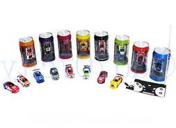 Multicolor Coke Car Mini Speed RC Radio Remote Control Micro Racing Car Toy kW Batteriebetriebene Fahrzeuge