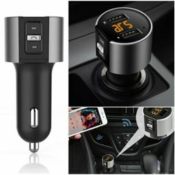 Bluetooth Car FM Transmitter Wireless Radio Adapter MP3 Play