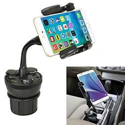 Car Cup Mount iKross Universal Smartphone Cup Holder Cradle
