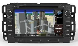 GMC In-Dash GPS Navigation DVD Player Bluetooth A2DP Audio S