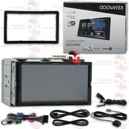 """KENWOOD DDX775BH 6.95"""" CD DVD BLUETOOTH USB WAZE WEBLINK SIR"""