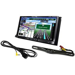 "Package: JVC KW-NT810HDT 7"" Double DIN Car GPS Navigation DV"