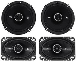 Package: Pair of Kicker 43DSC4604 120 Watt 4x6 2-Way Car Ste