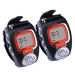 VECTORCOM RD08 Portable Digital Wrist Watch Walkie Talkie Tw
