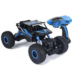 SZJJX RC Rock Off-Road Vehicle 2.4Ghz 4WD High Speed 1:18 Ra