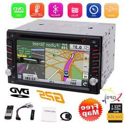"Windows 7"" Double 2Din Car Stereo Radio CD DVD Player GPS Na"