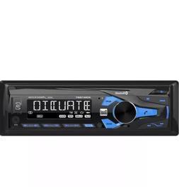 Car Dual AM/FM Digital Media Car Stereo with Bluetooth & Rad
