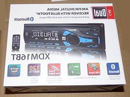 Dual AM/FM Digital Media Car Stereo with Bluetooth xdm16bt R