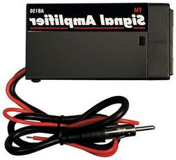 AM FM Signal Booster Amp Amplifier Auto Car Antenna Aerial R