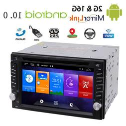 Android 10.0 2GB Double 2Din 6.2inch InDash Car DVD Player R