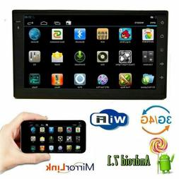 """Android 7.1 WIFI 7""""Car Radio GPS Stereo DVD Player+Bluetooth"""
