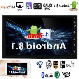 "Android 8.1 Bluetooth Car Stereo Radio 2din 7"" HD MP5 FM GPS"
