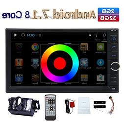 """EinCar Android Car Stereo 7.1 Octa Core 2G 32G 7"""" In Dash 2"""