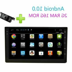 Android Car Stereo GPS Navigation Radio Player Double Din WI